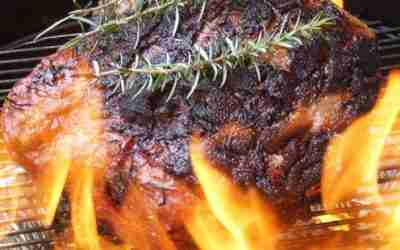 Barbecued Whole Rump