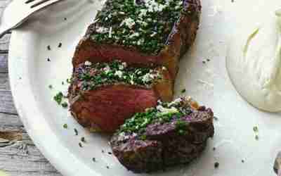 Chargrilled beef sirloin